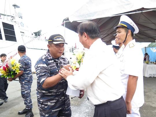 TP HCM đón cùng lúc 2 tàu quân sự Indonesia - Ảnh 6.
