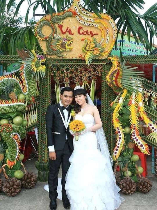 Chùm ảnh: Về miền Tây dự đám cưới có cổng lá dừa - Ảnh 6.