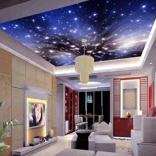 Đẹp kinh ngạc với trần nhà 3D - Ảnh 6.