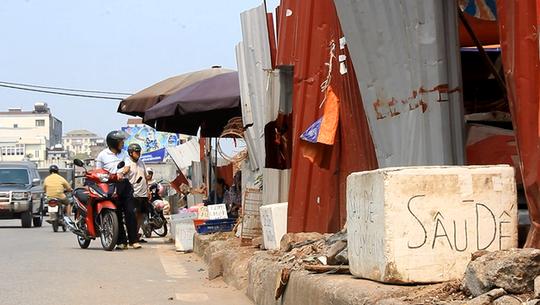 Giữa Thủ đô Hà Nội, có một khu chợ khá độc đáo nằm ngay trên phố Hoàng Hoa Thám sầm uất: Đó là chợ sâu bọ. Chợ kéo dài khoảng 1 km, bán đủ các loại côn trùng như: sâu rồng, sâu quy… đến các loại cào cào, châu chấu, dế mèn… với giá chung là 250 nghìn đồng/1kg.