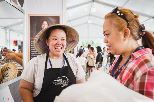 Bánh bèo, bánh xèo Việt Nam xuất hiện ở Đại hội ẩm thực thế giới - Ảnh 7.
