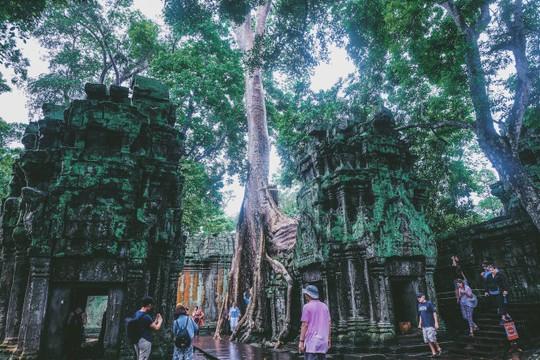 Ta Prohm - ngôi đền của những rễ cây kỳ dị - Ảnh 7.