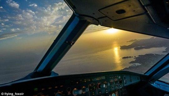 Ảnh châu Âu từ trên cao cực đẹp do phi công chụp từ buồng lái máy bay - Ảnh 7.