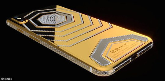 Phát sốt với iPhone X mạ vàng giá 1,5 tỉ vừa lộ diện - Ảnh 7.
