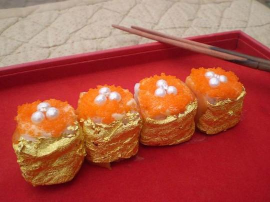 9 món ăn dát vàng dành cho hội con nhà giàu - Ảnh 7.