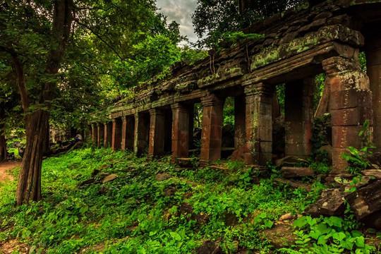 Ngôi đền bí ẩn lâu đời hơn cả Angkor Wat ở Campuchia - Ảnh 8.