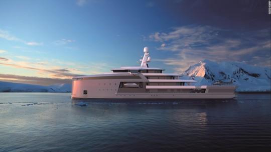 Siêu du thuyền có khả năng phá băng như tàu chiến - Ảnh 7.