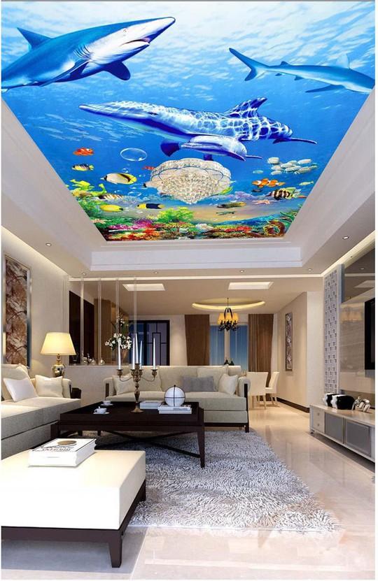 Đẹp kinh ngạc với trần nhà 3D - Ảnh 7.