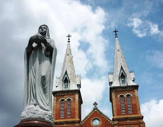 Tiền thân của Nhà thờ Đức Bà là một ngôi chùa nhỏ - Ảnh 8.