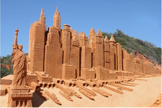 Phan Thiết có Công viên tượng cát đầu tiên trên thế giới - Ảnh 8.