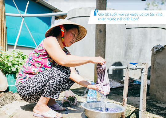 Những hình ảnh đáng nhớ trong hành trình trao tặng nước sạch - Ảnh 8.