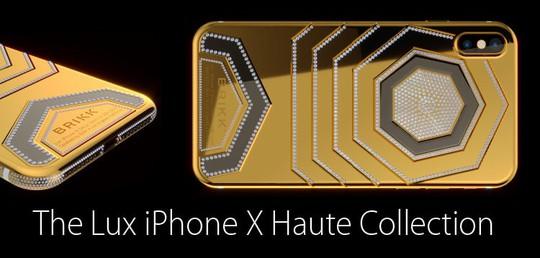 Phát sốt với iPhone X mạ vàng giá 1,5 tỉ vừa lộ diện - Ảnh 8.