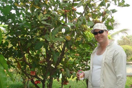 Vườn cây ăn trái 4 tỉ đồng như công viên của bà mẹ 2 con tại TP HCM - Ảnh 8.