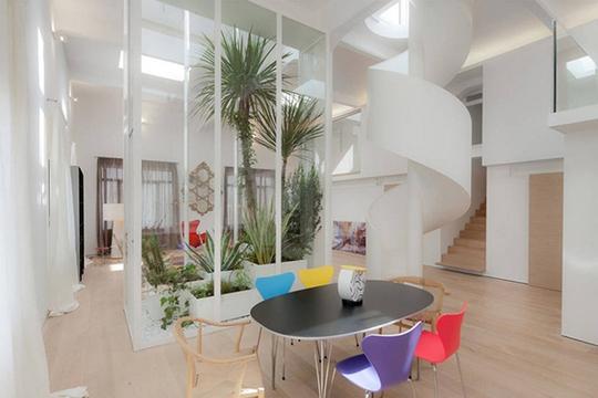 Xu hướng tạo vườn trong nhà trong thiết kế nhà ở - Ảnh 8.