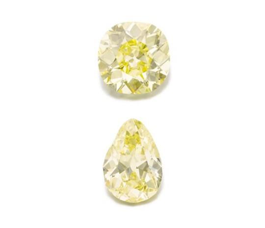 Ngắm hai viên kim cương vàng lớn nhất thế giới đấu giá hôm nay - Ảnh 8.