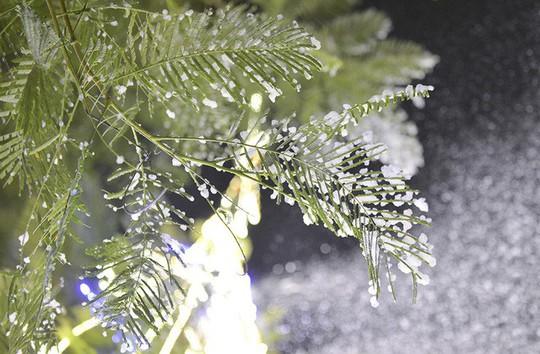 Bạn trẻ thích thú với tuyết rơi giữa Hà Nội - Ảnh 8.