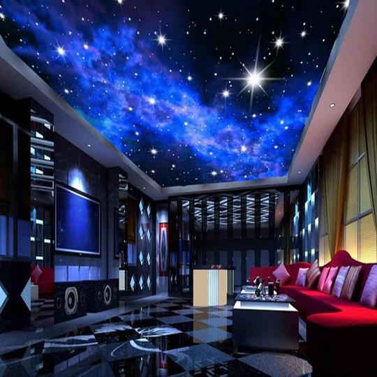 Đẹp kinh ngạc với trần nhà 3D - Ảnh 8.