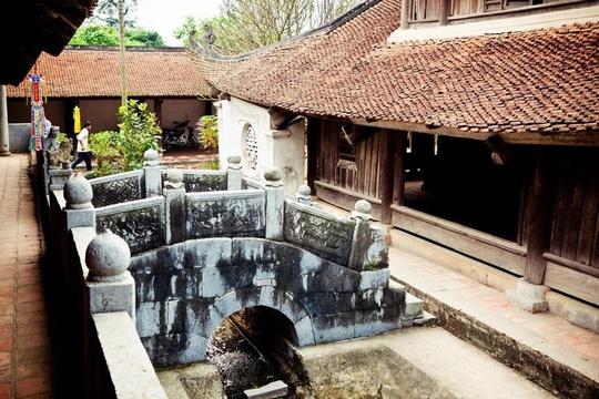 Ngôi chùa với những dấu tích từ thế kỷ 17 (Ảnh: Bertrand Duperrin).