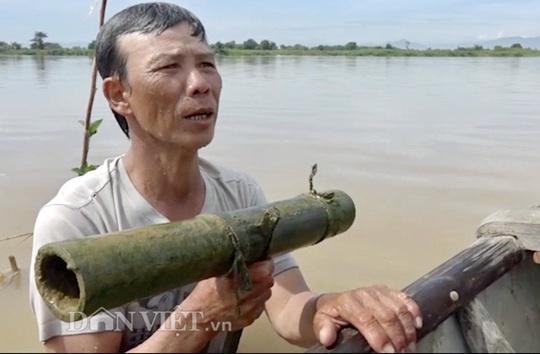 Cuối mùa săn cá bống ở đáy sông Trà Khúc - Ảnh 3.