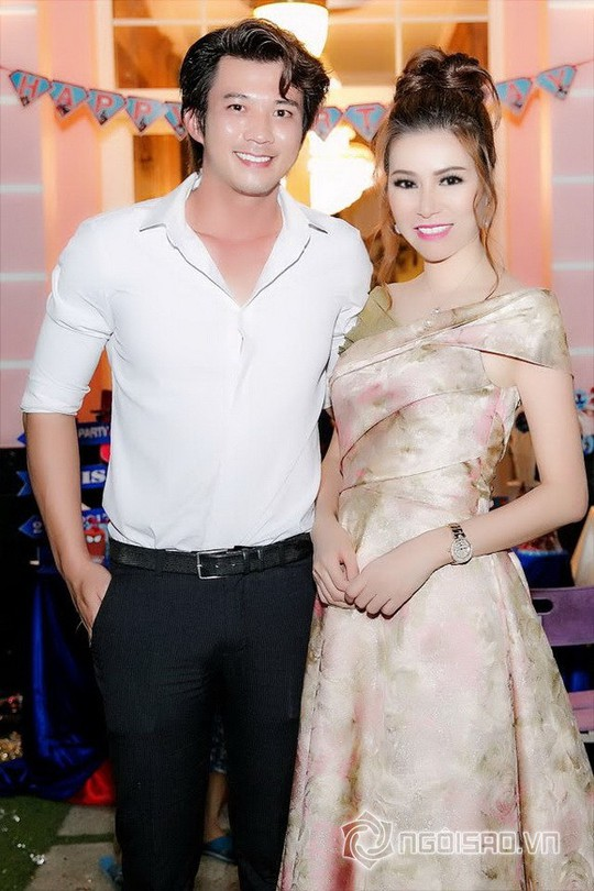 Dàn sao Việt mừng sinh nhật hoàng tử nhà Hoa hậu Bùi Thị Hà - Ảnh 8.