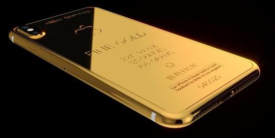 Phát sốt với iPhone X mạ vàng giá 1,5 tỉ vừa lộ diện - Ảnh 10.