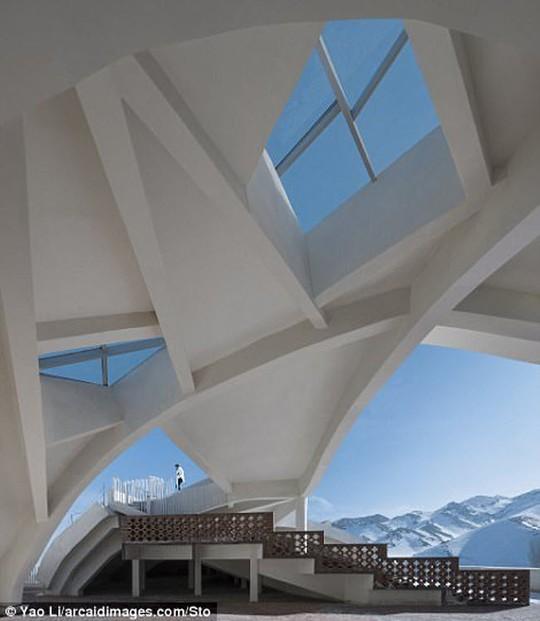 Choáng ngợp những kiến trúc ấn tượng nhất TG năm 2017 - Ảnh 10.