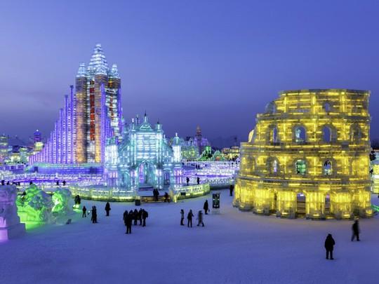 Những lễ hội điêu khắc băng tuyết hấp dẫn nhất thế giới - Ảnh 10.