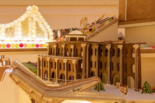 """""""Thành phố Bánh gừng"""" tưng bừng đón Giáng sinh - Ảnh 10."""