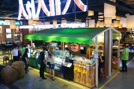 Quần thể ẩm thực, mua sắm, giải trí Sense Market vừa được khai trương và đi vào hoạt động vào đầu tháng 3-2017