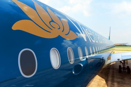 Cận cảnh chiếc siêu máy bay A350-900 thứ 8 của Vietnam Airlines - Ảnh 4.