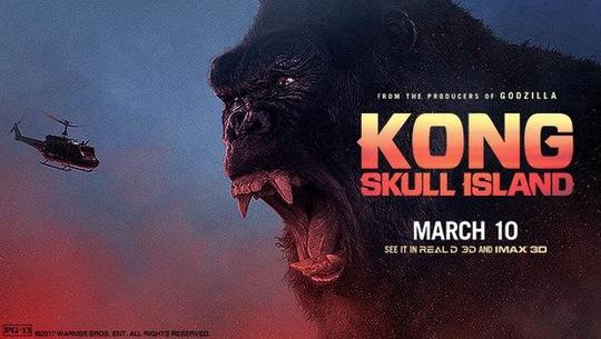 "Poster phim ""Kong: Skull Island"" Ảnh: Los Angeles Times"
