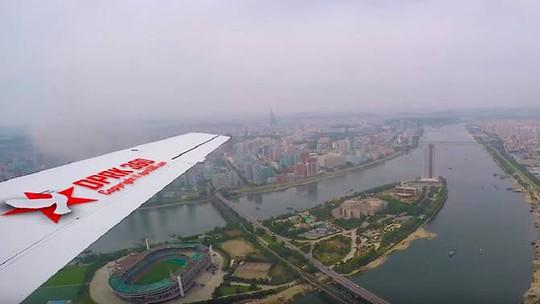 Video hiếm hoi quay Bình Nhưỡng từ trên cao - Ảnh 1.