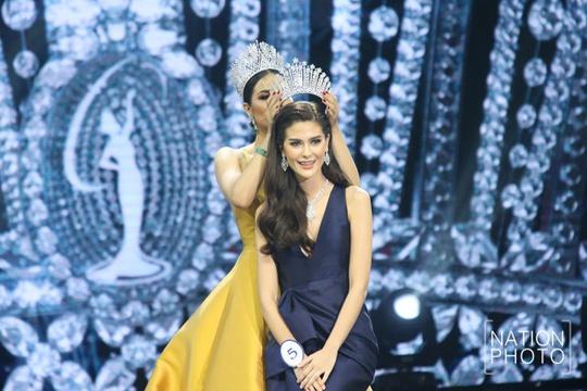 Cận cảnh nhan sắc Tân Hoa hậu Hoàn vũ Thái Lan - Ảnh 1.