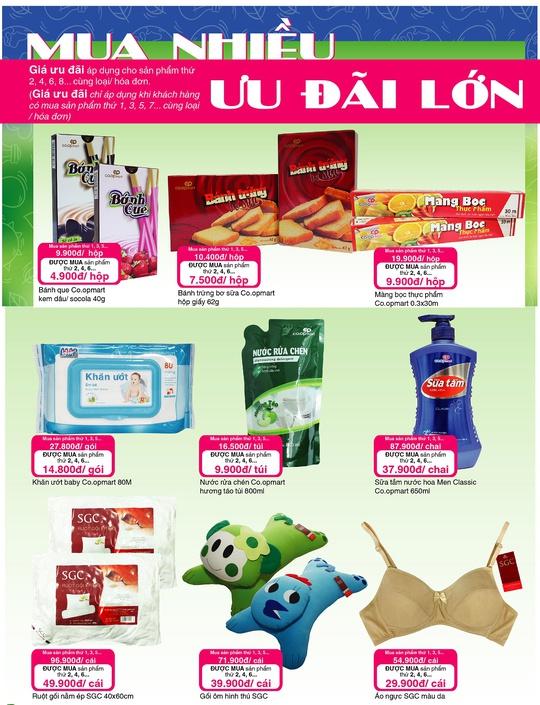 Đi siêu thị Co.opmart, càng mua nhiều càng có lợi - Ảnh 1.