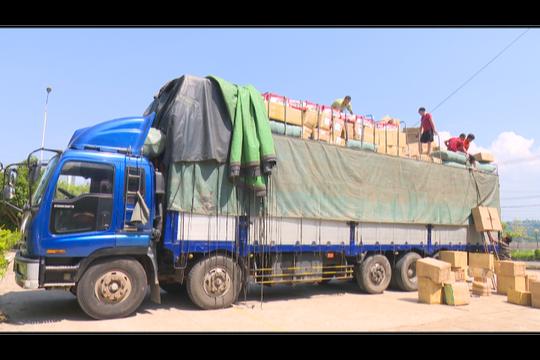 Một lượng hàng hóa không rõ nguồn gốc bị bắt giữ