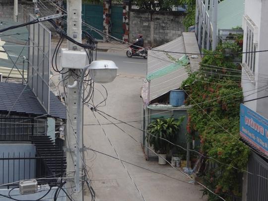Công trình lấn chiếm ở hẻm 429 đường Tô Ngọc Vân, phường Thạnh Xuân, quận 12, TP HCM.