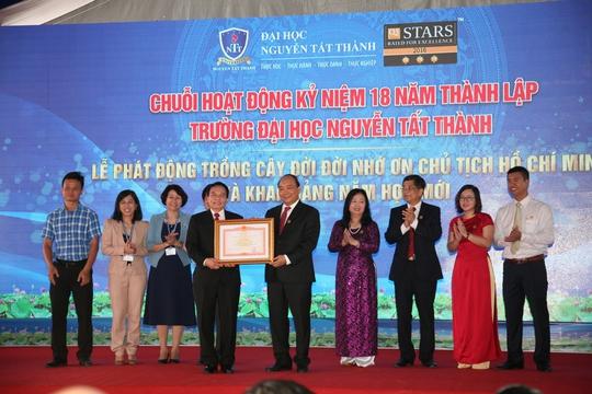 Trường ĐH Nguyễn Tất Thành: Điển hình xã hội hóa thành công - Ảnh 1.