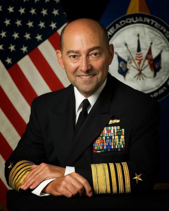 Cựu Tư lệnh NATO Stavridis. Ảnh: Reuters