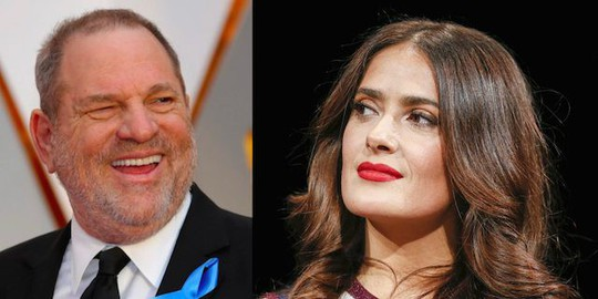 Mỹ nhân Salma Hayek gọi Harvey Weinstein là quái vật - Ảnh 1.