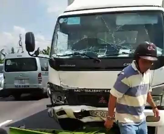 Tai nạn chết người ở tuyến tránh Cai Lậy - Ảnh 1.