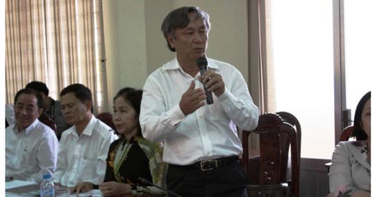 Khởi tố nguyên giám đốc Sở Y tế tỉnh Long An - Ảnh 1.