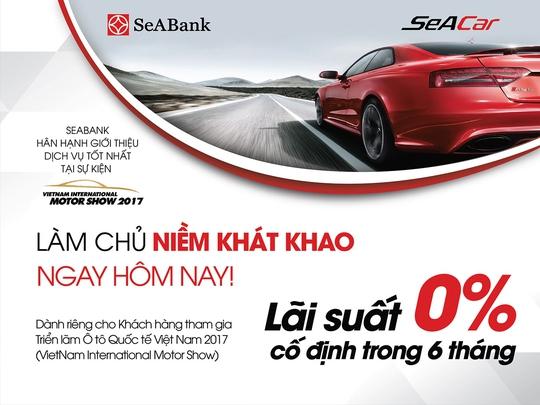 SeABank dành nhiều ưu đãi cho khách hàng mua xe ô tô - Ảnh 1.