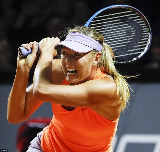 Sharapova vào tứ kết Stuttgart Open, sốc nhỏ ở Barcelona - Ảnh 4.
