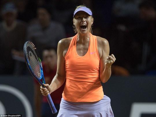 Sharapova vào tứ kết Stuttgart Open, sốc nhỏ ở Barcelona - Ảnh 6.