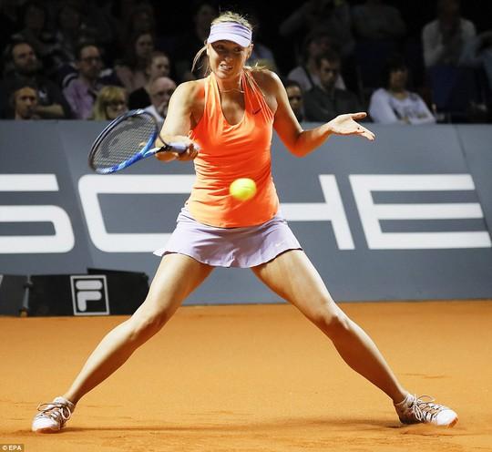 Sharapova vào tứ kết Stuttgart Open, sốc nhỏ ở Barcelona - Ảnh 3.
