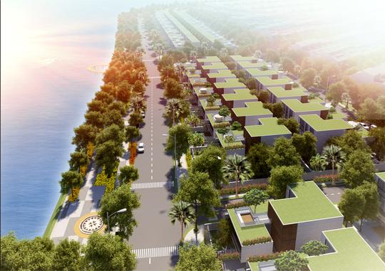 Phối cảnh dự án Elysia Complex City