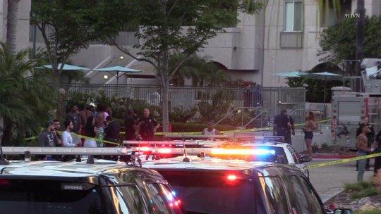 Cảnh sát đang điều tra vụ việc. Ảnh: Fox 5