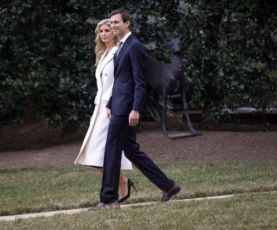 Cô Ivanka Trump và chồng, cặp đôi quyền lực mới tại Nhà Trắng Ảnh: The New York Times