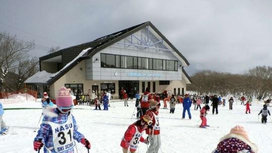 Khu trượt tuyết gia đình Nasuonsen. Ảnh: Must-See Japan