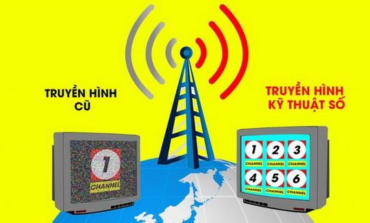 Thêm 15 tỉnh thành sẽ ngưng phát sóng truyền hình analog từ 15/8/2017 - Ảnh 1.